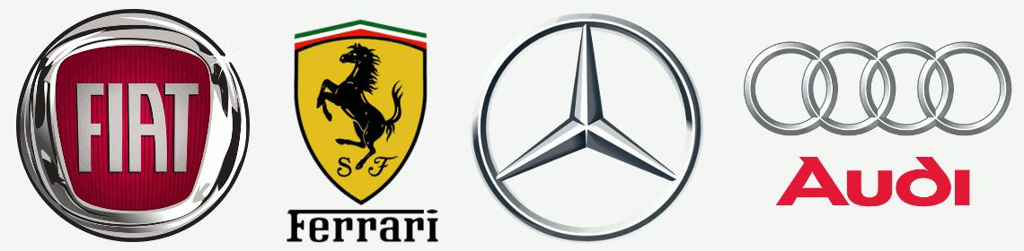 Orion Cars ha nel suo parco auto i veicoli delle migliori marche, Fiat, Ferrari, Mercedes, Audi, Alfa Romeo, Bmw e tanti altri