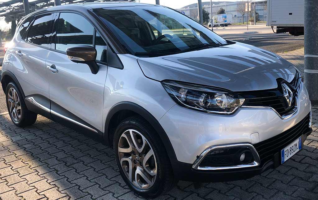 Renault Capture Angolare